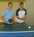 Photo of table tennis game