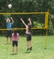 Photo of children playing volleyball