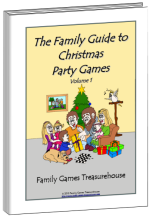 Cover of The Family Guide to Christmas Games volume 1 ebook