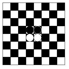 Starting positions of counters