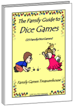 Cover of The Family Guide to Dice Games ebook