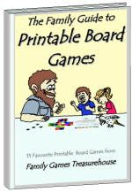 Cover of The Family Guide to Printable Board Games ebook