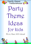 Cover of the Party Theme Ideas for Kids ebook